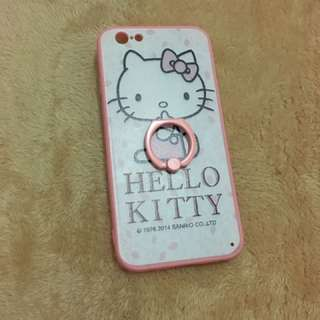 Hello Kitty iPhone 6/6s case with ring holder