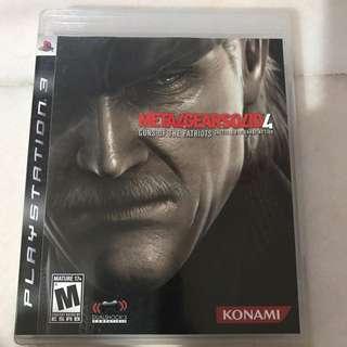 Playstation 3 METALGEARSOLID 4- Guns Of The Patriots