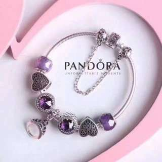 Pandora Collier And Charms