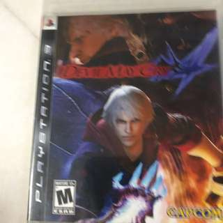 Playstation 3- Devil May Cry