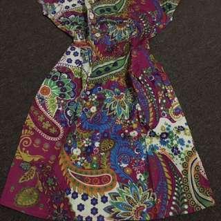 Batik Dress , Cocok Buat Ngantor Shay