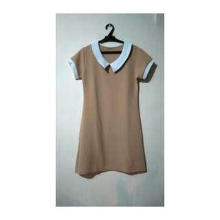 Yaya Dub Beige Dress