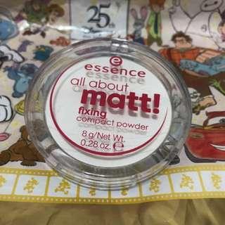 essence  all about matt! 定妝蜜粉