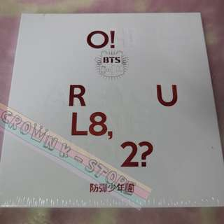 [READY STOCK]BTS KOREA FIRST MINI ALBUM <O!RUL8,2?> SEALED POSTER NOT AVAILABLE (PLEASE READ DETAILS FOR MORE INFO)