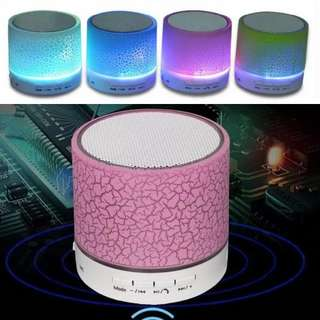 LED Light Portable Mini Bluetooth Wireless Speaker Hands Free Music