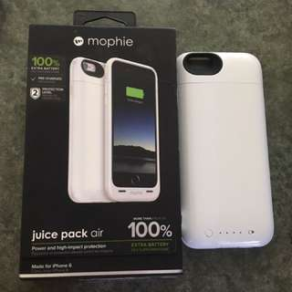 Mophie juice Pack Air IPhone 6/6s