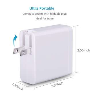USB Type-C 60W PD USB Wall Charger