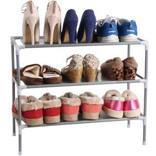 DIY Shoe Rack Multi tier Organizer Storage Shelf