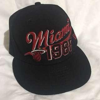 NewEra 59Fifty Miami Heat Team