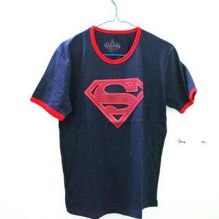 Kaos Superman Logo Timbul
