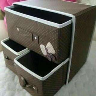 3in1 Foldable Drawer Organizer