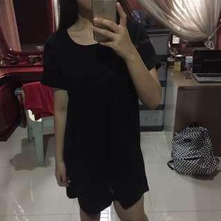 hnm long shirt