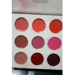 BH Cosmetics Shaaanxo Eyeshadow Lipstick Palette (IMPERFECT) NEW + AUTH
