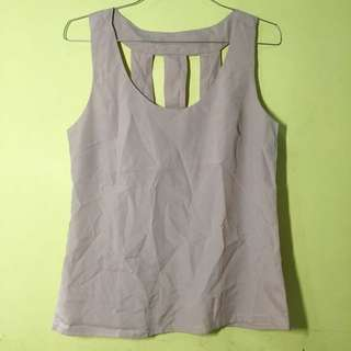 Lilac Purple Tank Top // Tanktop ungu