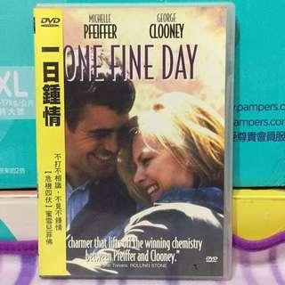 【雙畇媽咪】二手 一日鍾情 DVD  蜜雪兒菲佛 喬治庫隆尼