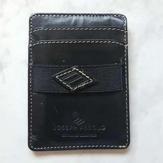 Unisex Leather Card Holder