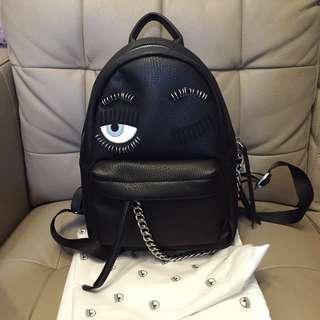 Chiara Ferragni 眼睛龐克後背包