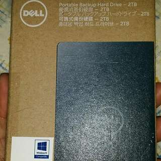 Brand New Dell 2tb External HDD