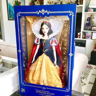 Disney Shanghai Grand Opening Limited Doll Snow White Doll