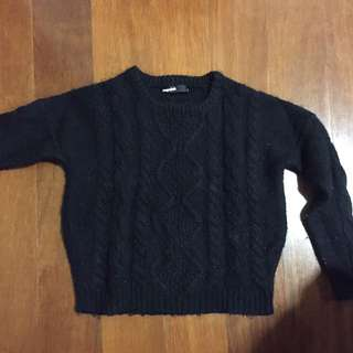 Dangerfield Black Knitted Jumped Size 8