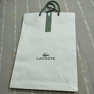 Paper Bag Lacoste