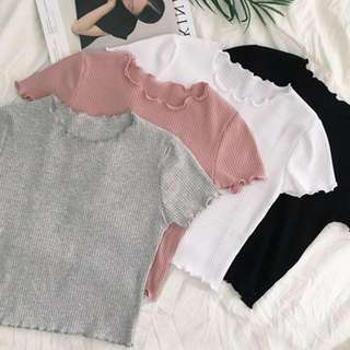 Knitted Sleeve Top