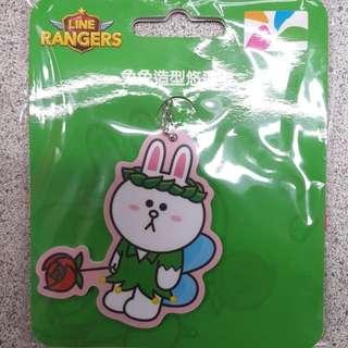 line兔兔悠遊卡 小精靈兔兔造型悠遊卡