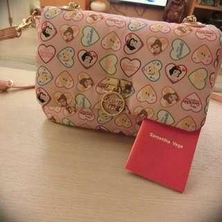 降價求售!samantha thavasa 公主系側背手提包日本購入 #含運最划算