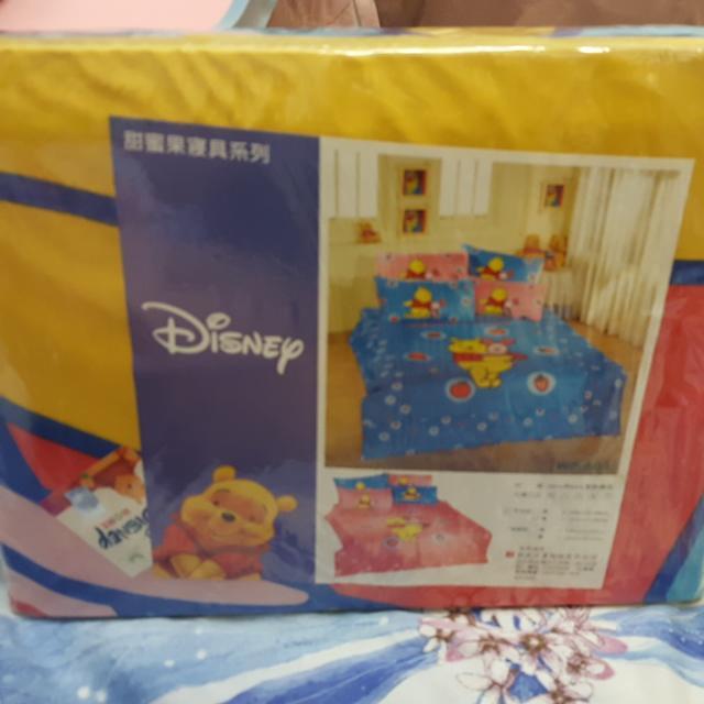 迪士尼 甜蜜果寢具係列 熊熊維尼高雄可自取