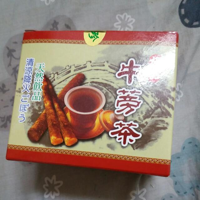 牛蒡茶 天然 台灣製造