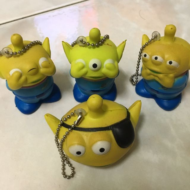 玩具總動員 三眼怪 扭蛋 盒玩 Toystory