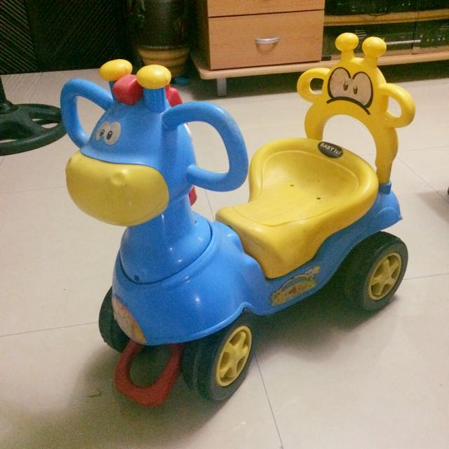 ( Php 750 Only!!! ) Baby 1st Ride On Car ( Push Cart )