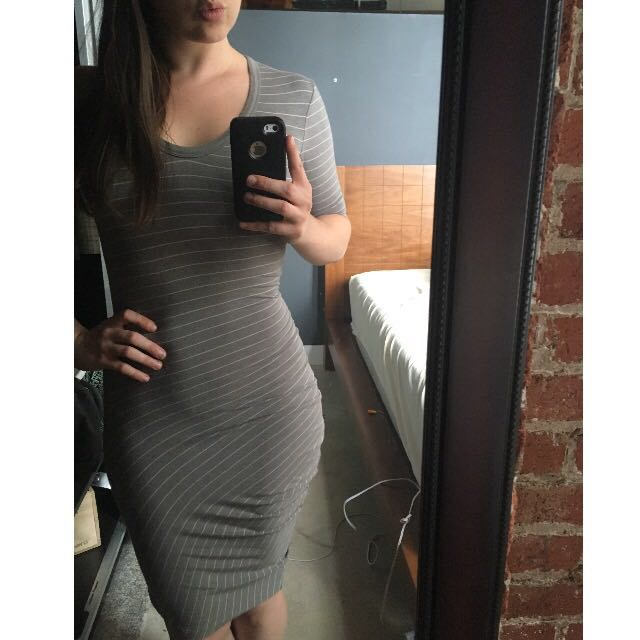 Alexander Wang Body Con Dress