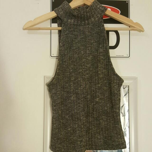 All About Eve Grey Knit Size 8