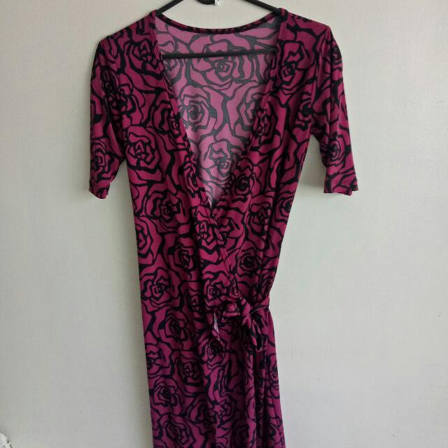 Almost New!!  Attic Wrap Around Dress
