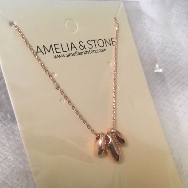 Amelia & Stone Necklace
