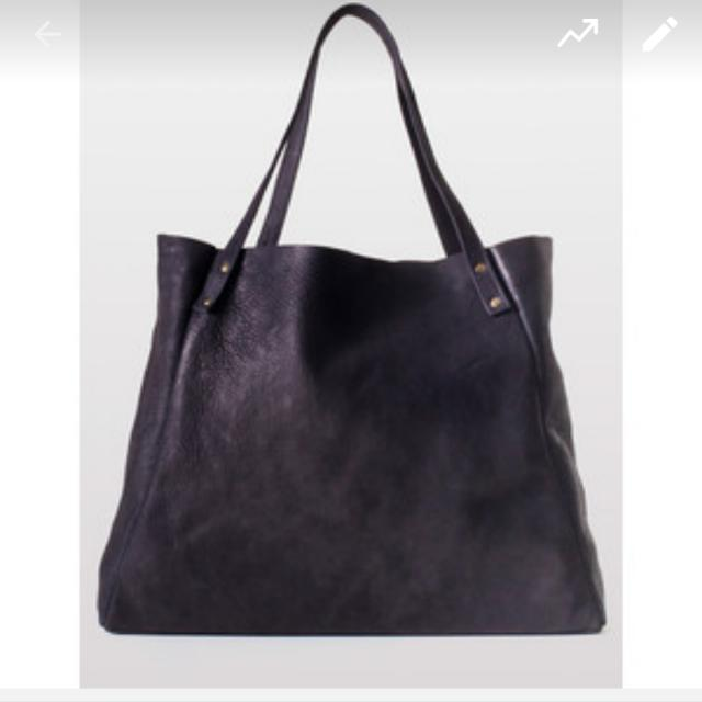 American Apparel Real Leather Bag