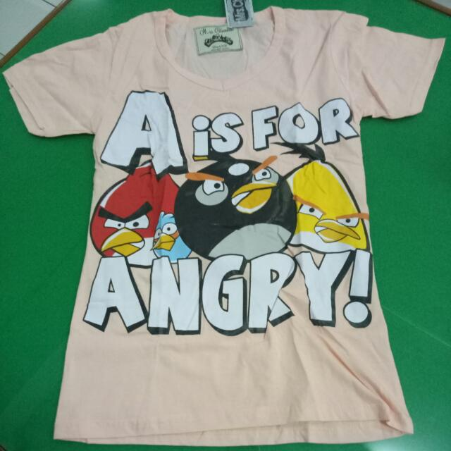 Angry Birds Shirt Size S / 10-13th