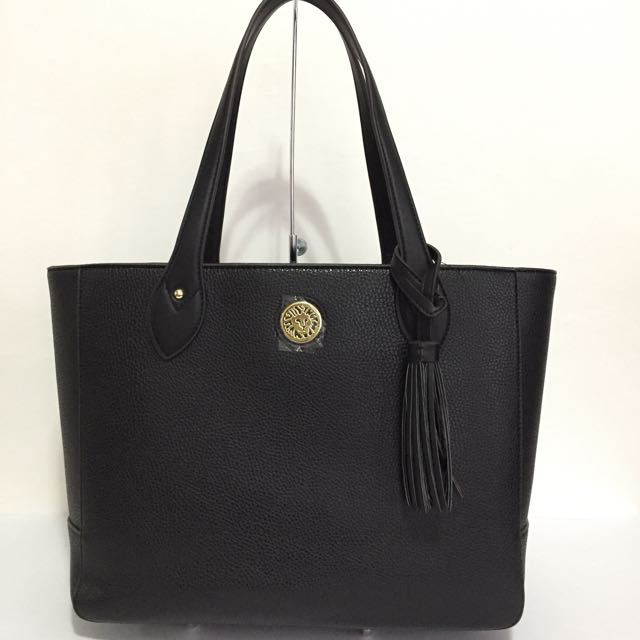 ANNE KLEIN TASSLE TIME LARGE TOTE BAG AUTHENTIC $99
