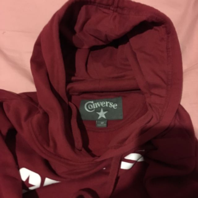 Authentic Converse Red Hoodie Size M