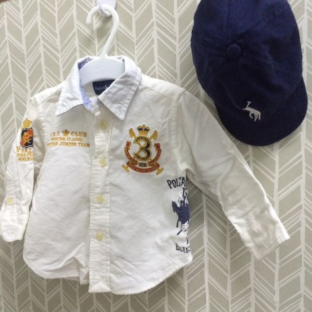 authentic polo colar shirt