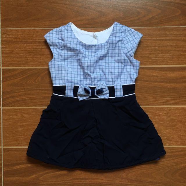 Baby School Uniform Dress