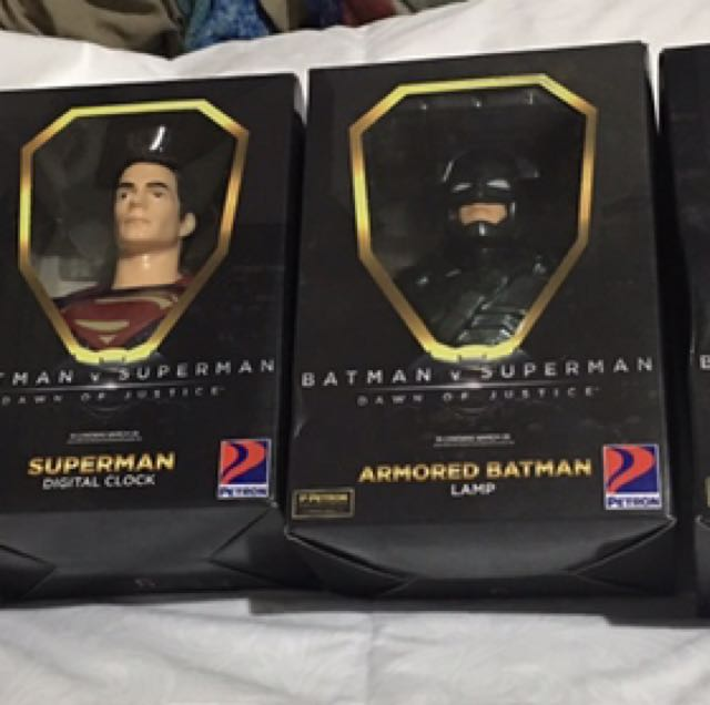 Batman VS Superman Petron Collection