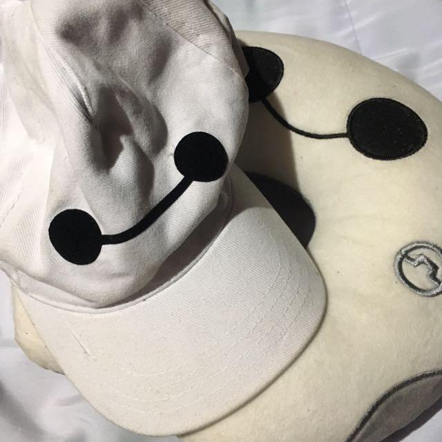 Baymax Cap And Neck Pillow