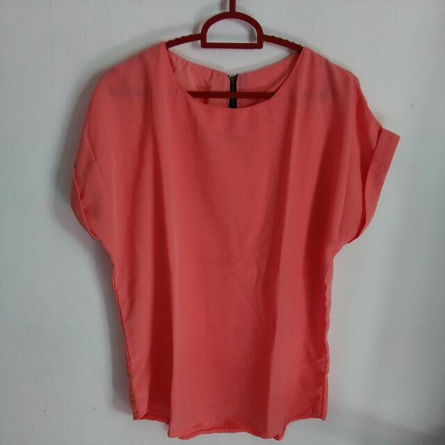 Blouse Warna Peach