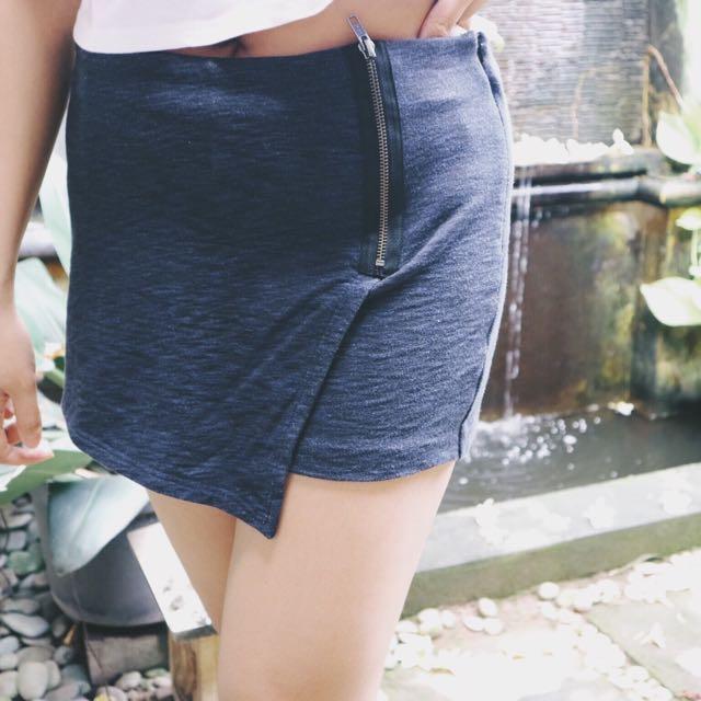 Blue Short-skirt
