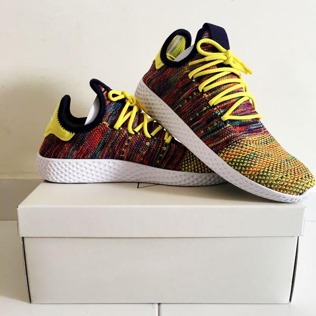 fa74c6a7fd606 BNIB - Adidas Originals Pharrell Williams x Tennis Hu Multi-Colour ...