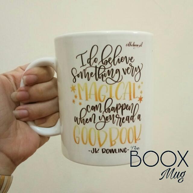 Bookish Mug TBM-01