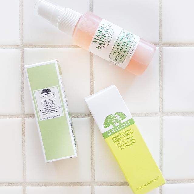 Brand New: Origins and Mario Badescu