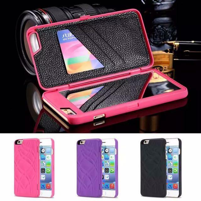 Brand New Purple Colour Iphobe 6plus Case Left